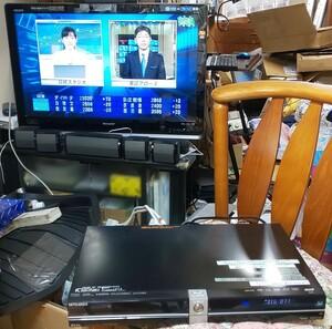 @ 素人修理、BD-R以外使えます。:三菱 REAL BD/DVD ブルーレイレコーダー DVR-BZ250 ジャンク(250-2)