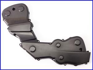 ★ 【M2】良品♪ハイパーモタード820SP DucatiPerformance カーボンタイミングベルトカバー♪