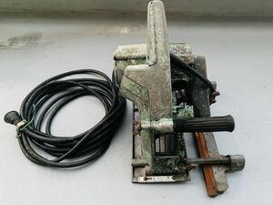 HITACHI 日立工機 仕上溝切 ブレーキ付 PG 21B 46㎜ 電動工具 中古品 通電確認済