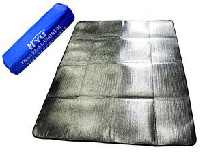 防水 防湿 断熱 アルミ レジャーシート レジャーマット キャンプシート 銀マット 150cm×200cm