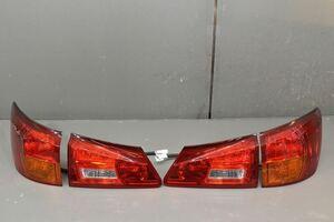 レクサス IS 250 前期(GSE20 GSE21)純正 イチコー 破損無 動作保証 テールランプ左右 4点セット LED点灯OK 左右 右 左 53-42 53-40 K041615