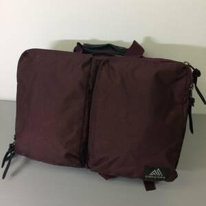 グレゴリー カバートエクステンデッドミッション ブラック ビジネスバッグ