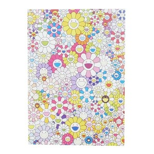 MURAKAMI TAKASHI/村上隆 An Homage to Yves Klein, Multicolor B Offset print with cold stamp ED300 ポスター マルチ