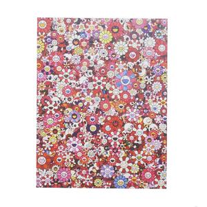 MURAKAMI TAKASHI/村上隆 ムラカミタカシ Skulls & Flowers Red Offset ED300 ポスター 赤 Size【フリー】 【新古品・未使用品】