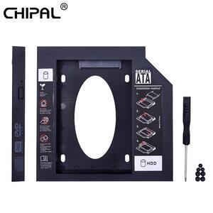 Chipalユニバーサル第二 2nd hddキャディー 12.7 ミリメートルsata 3.0 のため 2.5 ''ssdケースハードディスクドライブノートパソコンのcd