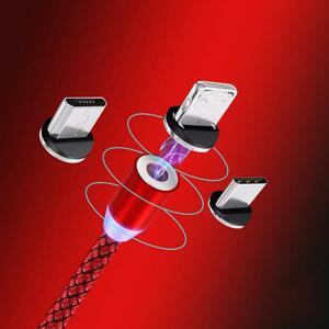 磁気マイクロusbケーブルiphoneサムスンandroid用急速充電マグネット充電器usbタイプcケーブル携帯電話コードワイヤー