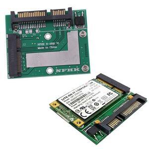 Msata ssd 2.5インチsata 6.0gpsアダプタコンバータカードモジュールボードミニpcie ssd