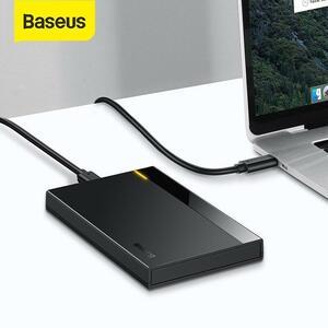 Baseus hddケース2.5佐多usb 3.0アダプタハードディスクhddケースssdケースタイプc 3.1 hddボックスhd外部hddキャディー