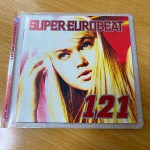 【美品】CD Super Eurobeat Vol.121 スーパーユーロビート avex trax