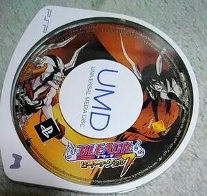 PSP プレイステーションポータブルソフト BLEACH ヒート・ザ・ソウル7 中古品 送料無料