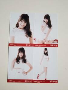 AKB48 鈴木まりや Theater 2016 January 生写真 4種コンプ <復刻版>