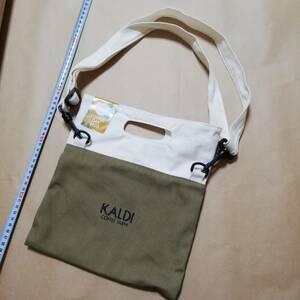 カルディ KALDI サコッシュ 鞄  エコバッグ トートバッグ 鞄 バッグ