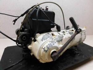 ●純正エンジン 2E9-6061 パッソル2/PassolⅡ 実動 異音なし 2ストローク 6V ベース 当時物!(検索 旧車/爆走/暴走/部品取り/レストア)