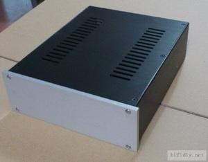 アンプ シャーシ アルミ 311mm×260mm×90mm 真空管 パワーアンプ デジタルアンプ ケース 自作 1
