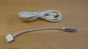 USB-C PD→Magsafe2変換コネクタ&USB-Cケーブルセット