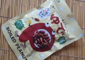 塩ゆでピーナッツ 83g 切手可 レターパックで数8 ネコポスで数4