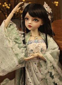 全セット 60cm 人形 球体関節人形 古典 BJDドール 1/3