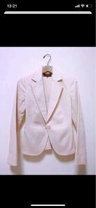 テーラードジャケット  長袖 ピンク