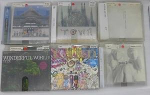 cd362-932451f■CD■ゆず LAND/WONDERFUL WORLD/他 一部歌詞カードカラーコピー、破損あり、帯なし 6枚セット「中古・レンタル落ち」
