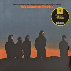 The Common People - Of The People/By The People/For The People From The Common People CD付きリマスター再発アナログ・レコード