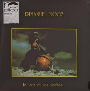 Emmanuel Booz エマニュエル・ブーズ - Le Jour O Les Vaches... 限定リマスター再発アナログ・レコード