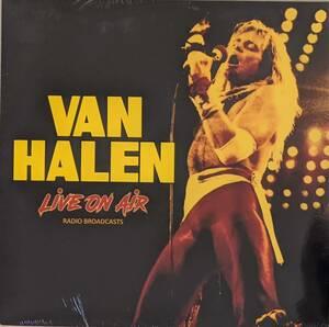 Van Halen ヴァン・ヘイレン - Live On Air 限定カラー・アナログ・レコード