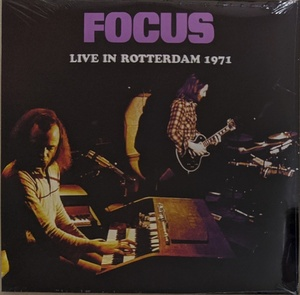 Focus フォーカス - Live In Rotterdam 1971 ボーナス・トラック1曲収録 限定アナログ・レコード