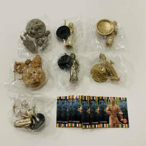 【カプセルQ】日本の至宝 仏像Ⅱ 立体図録 第2弾 7種 海洋堂 ガチャ 新品未開封