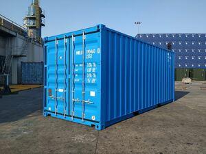 новый товар 20ft контейнер ( обычный . модель ) голубой цвет
