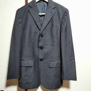 超美品 コムサ・デ・モード COMME CA DU MODE Men メンズ テーラードジャケット ジャケット 焦げ茶色 ダークブラウン サイズ 1 M