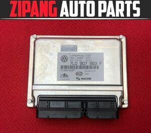 VW056 7L Touareg W12 sport 4WD suspension computer *7L0 907 553 F * error less 0* prompt decision *