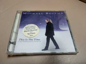 Michael Bolton CD This Is The Time The Christmas Album クリスマス