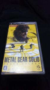 PSP メタルギアソリッド