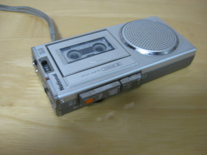 National MICRO CASSETTE RECORDER RN-Z03 ナショナル マイクロカセットレコーダー ジャンク