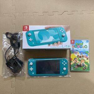 Nintendo Switch Lite ターコイズ あつまれどうぶつの森ソフト