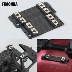 FIMONDAマグネティックボディポストマウント1 / 10RCクローラーカートラクサスTRX4TRX6G63アップグレー S204000968238212