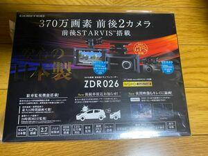 ★未使用品★ コムテック COMTEC ドライブレコーダー ZDR026 前後2カメラセット