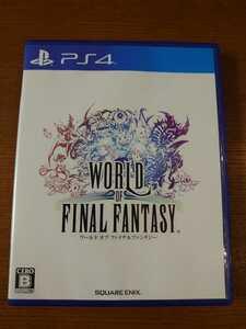 中古 PS4 WORLD OF FINAL FANTASY ワールドオブファイナルファンタジー