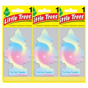 Little Trees リトルツリー エアフレッシュナー コットンキャンディー Cotton Candy 芳香剤 USDM 3枚セット