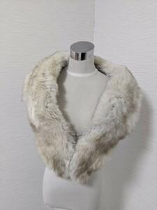 【送料無料】A010 SAGA FOX サガフォックス 毛皮 リアルファー ショール ストール 和装 洋装 成人式 大判 マフラー ケープ