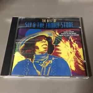 スライ&ザ・ファミリー・ストーン ザ・ベスト・オブ EU盤CD