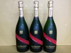 正規品 マム グラン コルドン 750ml  3本セット シャンパン シャンパーニュ フランス