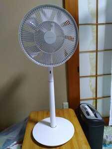 BALMUDA バルミューダ The GreenFan 家庭用扇風機 EGF-1600-WG 【ホワイト×グレー】グリーンファン 展示品 メーカー保証残有り 即決
