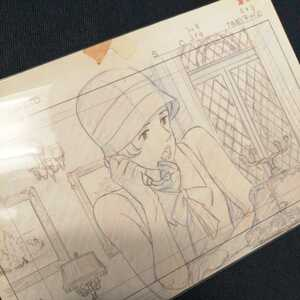 Studio Ghibli .. pig layout cut . inspection ) Ghibli postcard poster original picture cell picture layout exhibition Miyazaki .