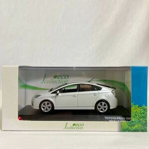 京商 1/43 TOYOTA PRIUS 2009 White トヨタ プリウス ホワイト ZVW30 ミニカー モデルカー