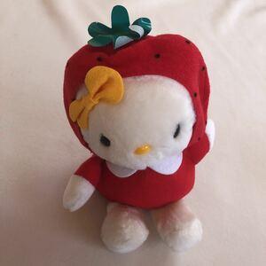 いちご イチゴ 苺 Hello Kitty ハローキティ ぬいぐるみ 新品 アミューズメント景品 非売品 プライズ品 検索:着ぐるみ/コスチューム