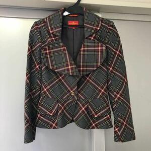 Vivienne Westwood RED LAVEL タータンチェックラブジャケット サイズ2 レディース 中古 20201120