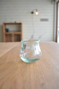 フランス ガラスポット ミニ アンティーク ブロカント ビンテージ 蚤の市 雑貨 小物 ヨーロッパ イギリス