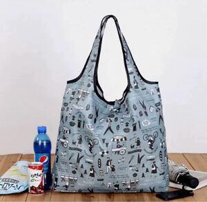 エコバッグ 買い物バッグ 折りたたみみ 肩掛け ショッピングバッグ レジバッグ