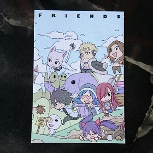 FAIRY TAIL・フェアリーテイル/真島ヒロ・絵はがき1枚 ・漫画/雑貨